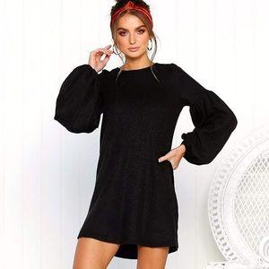 NWT women's black sweater dress 😊💕